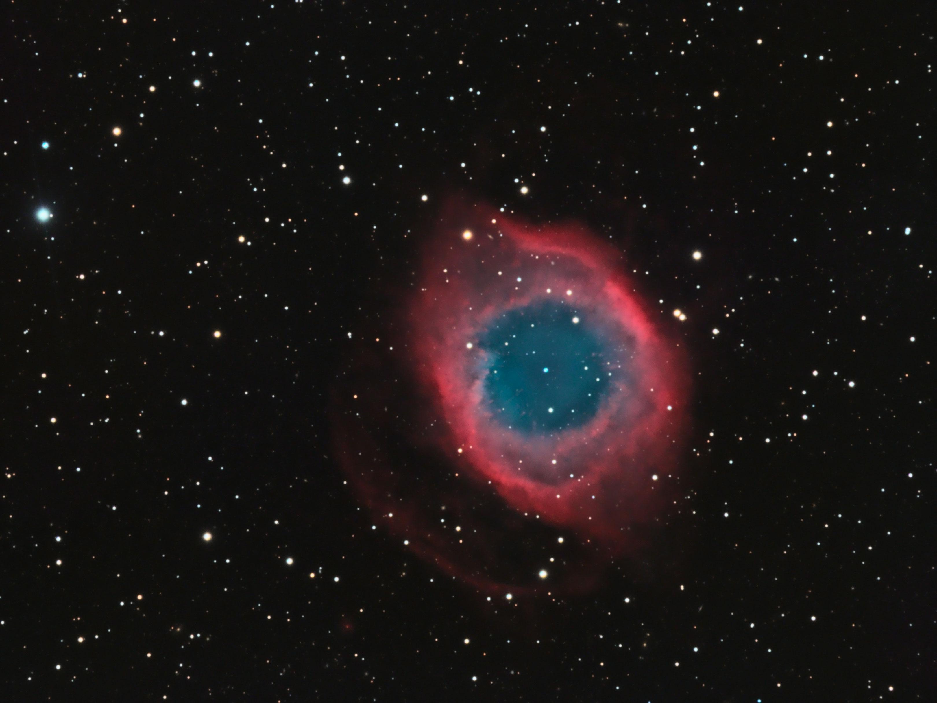 Helix Nebula NGC 7283 | Starscape Imaging